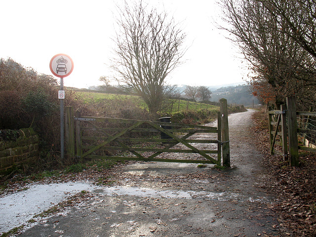 Gate on Rawroyds