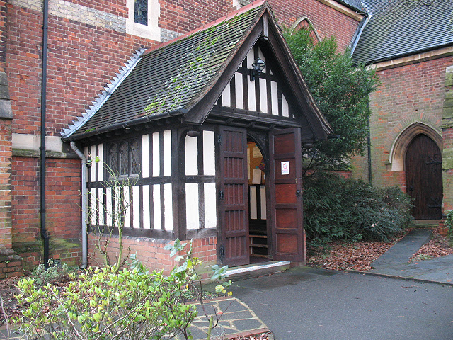 Porch of St Andrew's church
