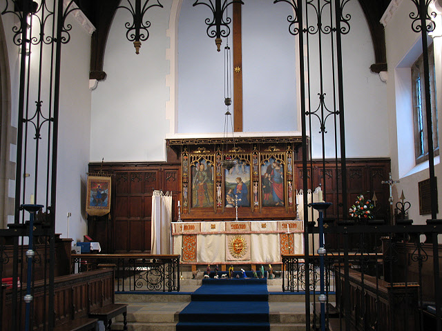 Chancel of St Andrew's church