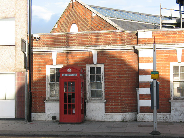 Scott phone box, Woolwich Road