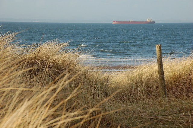 Firth of Forth from Gullane dunes