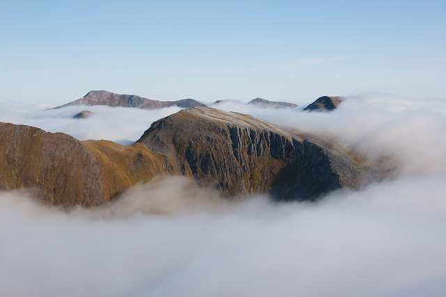Cloud Inversion over the Mamores