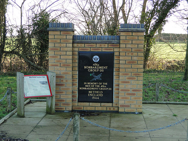 Memorial to 491st Bombardment Group (H)