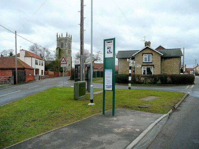 Laughton village centre