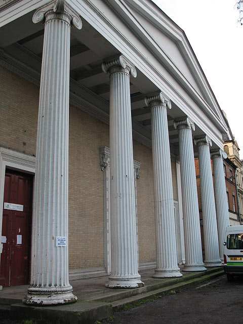 Portico of St John's church