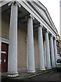 TQ3075 : Portico of St John's church by Stephen Craven