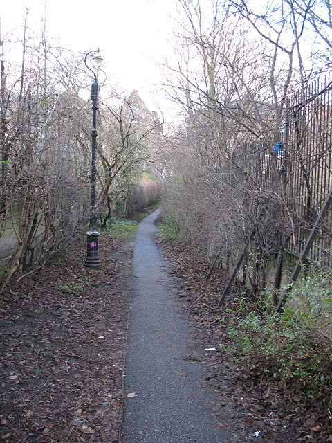 Footpath to Chelsham Road