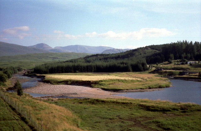 Abhainn Ghuilbinn at Luiblea