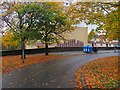 NS7674 : Autumn colours, Kildrum by Richard Webb