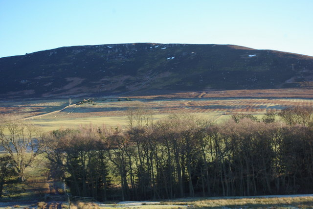 Simonside hills  and Farmland