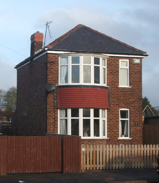 House on Applegarth Lane, Bridlington