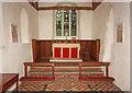 TL4137 : St Nicholas, Little Chishill - Sanctuary by John Salmon