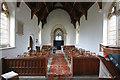 TL4137 : St Nicholas, Little Chishill - West end by John Salmon