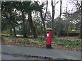 SZ1291 : Southbourne: postbox № BH5 227, Woodland Avenue by Chris Downer