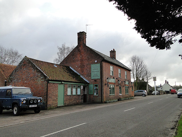 The Artichoke public house, Broome, Norfolk