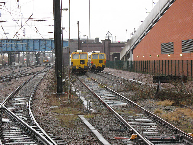 Doncaster station: engineer's sidings