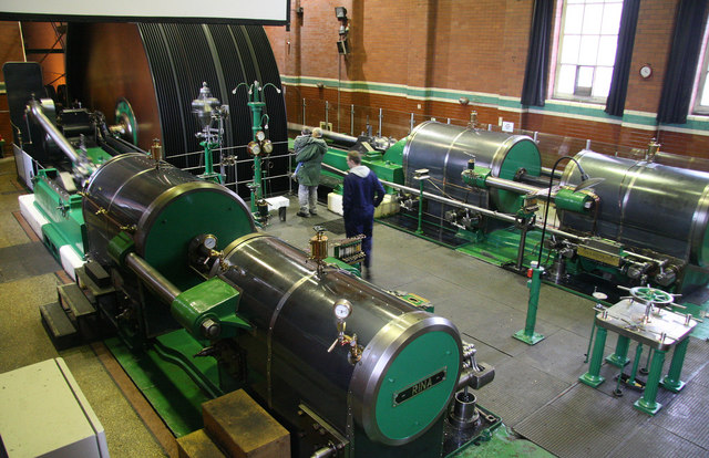 Trencherfield Mill, mill engine