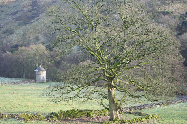 Dovecote by Swainsley Hall in the Manifold Valley