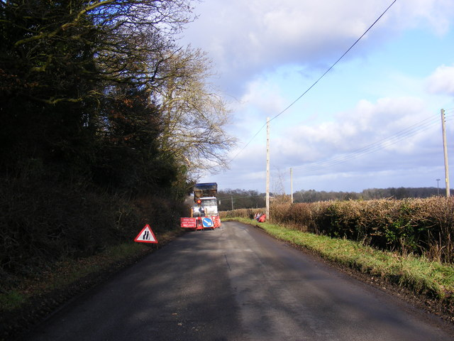Rendham Road, Peasenhall