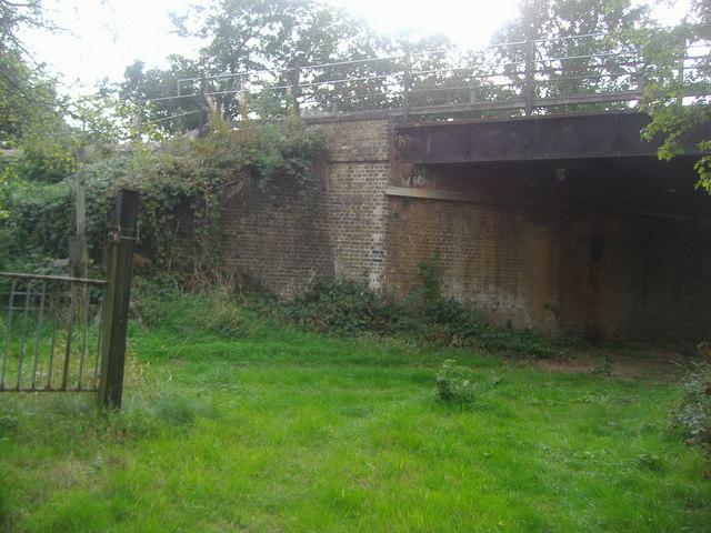 Bridge under the railway, Claygate