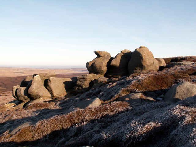 Rocks at Barrow Stones on the east side