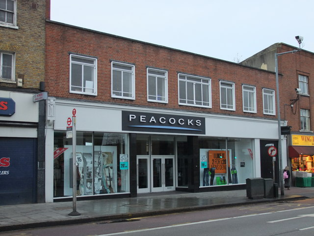 Peacocks shop, Denmark Hill. Camberwell