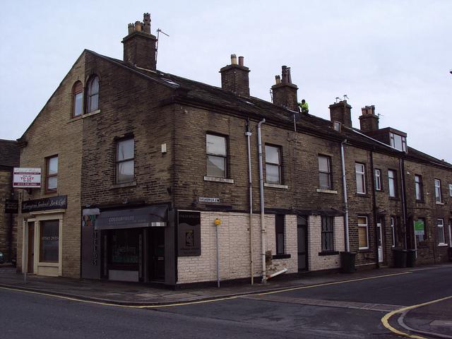 Street corner, Bradford
