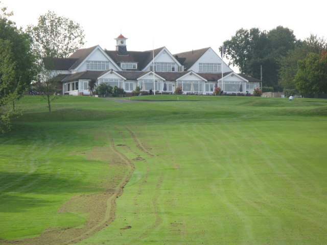 Fairway of the 1st hole, West Course, Sundridge Park Golf Club