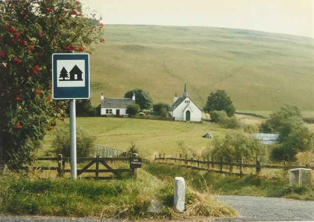 Snoot Youth Hostel in 1986