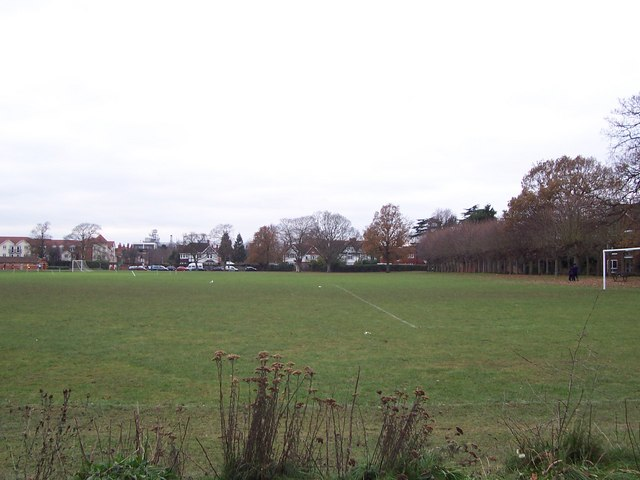 Football pitches in Cintra Park