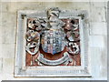 SU0826 : Coat of arms, St John the Baptist Church by Maigheach-gheal