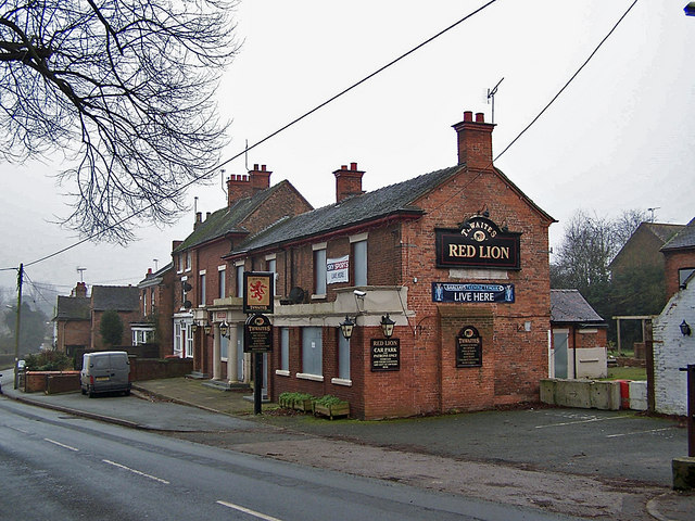 The Red Lion, Wybunbury - closed
