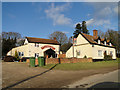 TM0689 : The Garden House, public house near Leader's Spinney, Banham by Adrian S Pye