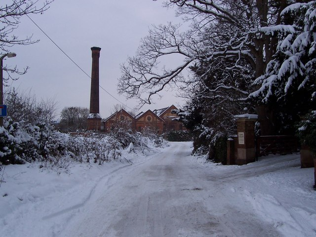 Old Road and Powick Tower