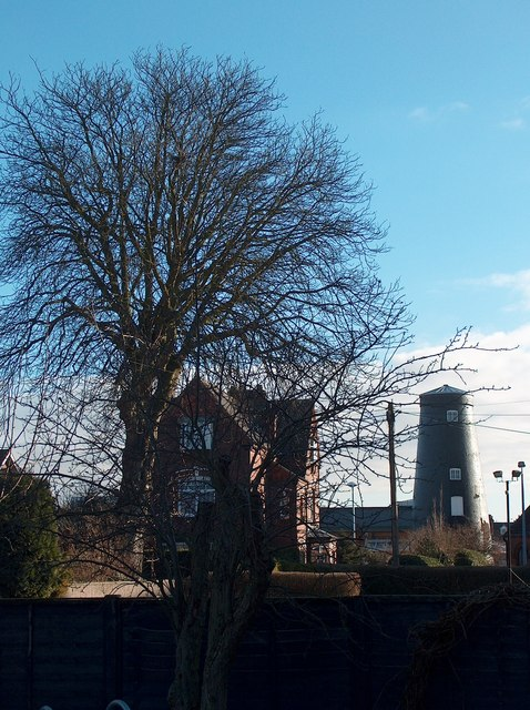 View of Timms Windmill, Goole