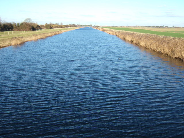 The Middle Level Main Drain - A view from Magdalen Bridge