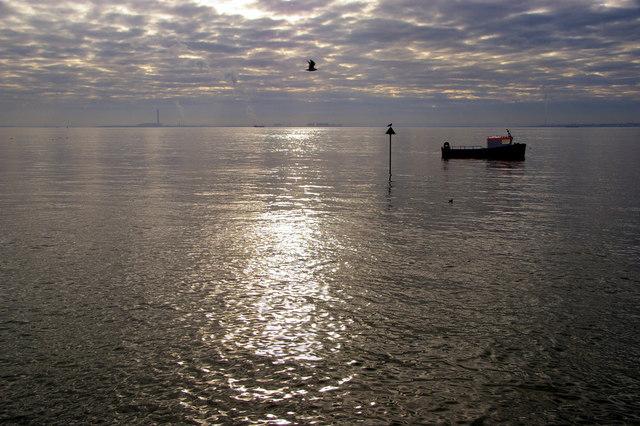 Thames Estuary  Southend