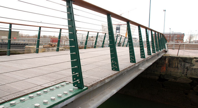 Footbridge, Titanic Quarter, Belfast