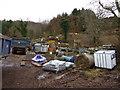 NT7372 : Rural East Lothian : Roadside Farmyard at Blackcastle : Week 5