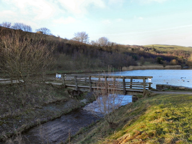 Strinesdale Reservoir Bridge
