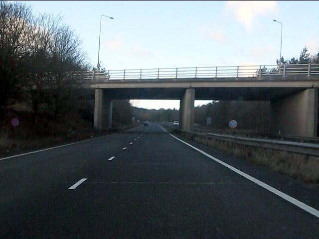 A55 - A5104 overbridge
