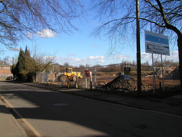 Former Clarkson International Tools site, King Edward Road, Nuneaton