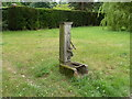 SJ6881 : Old wooden pump near Arley Green, Cheshire by Anthony O'Neil