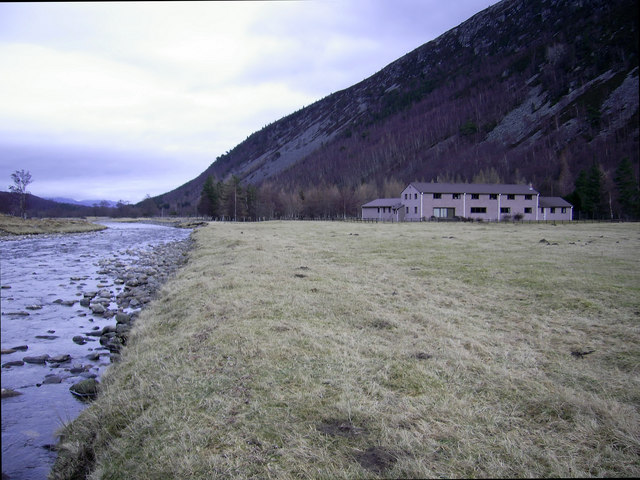 Lynaberack Lodge from the Tromie