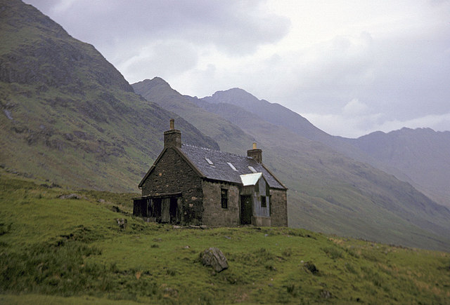 Glenlicht House in 1964