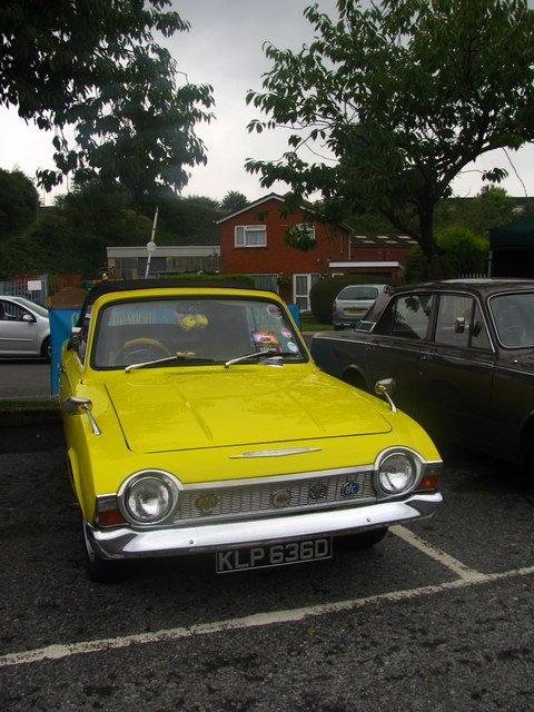 Restored Car at Merthyr