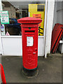 TG2708 : Edward VII pillar post box number NR7 710 by Adrian S Pye