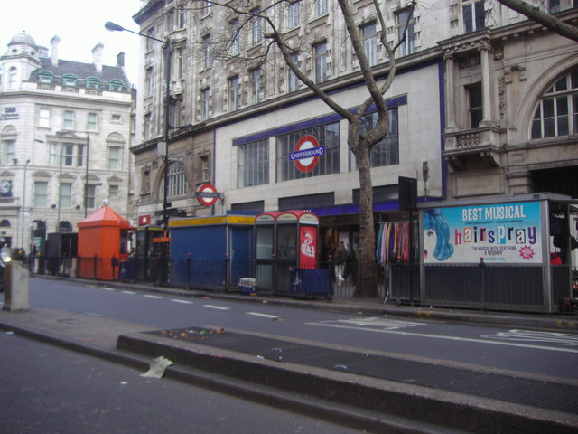 Kingsway by Holborn Tube station