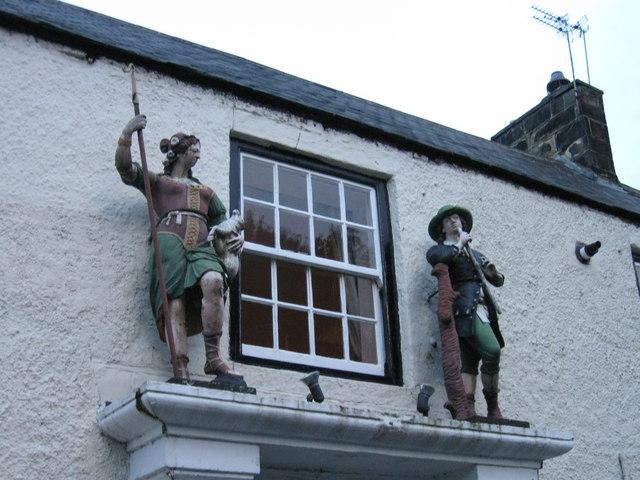Shepherd & Shepherdess, Beamish
