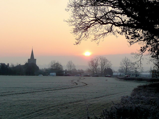 Dawn over Staunton